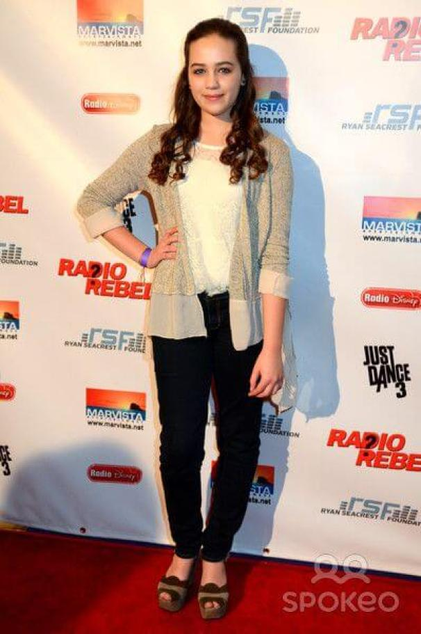 Mary Mouser sexy legs (2)