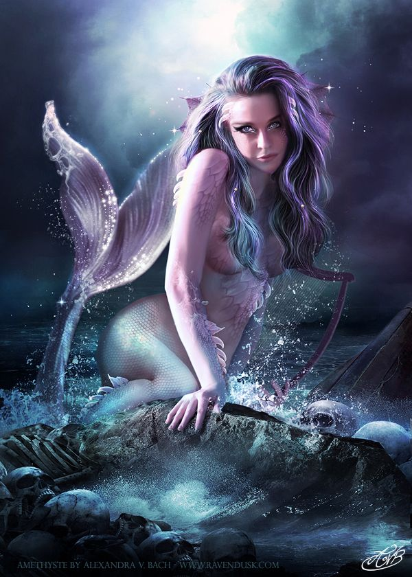 Mermaid sexy lady picture