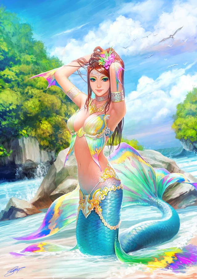 Mermaid sexy picture