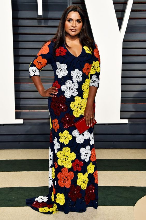 Mindy Kaling Beautifull Dress