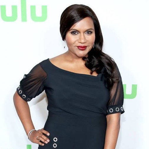 Mindy Kaling Red Lips