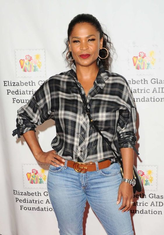 Nia Long Hot in Jeans