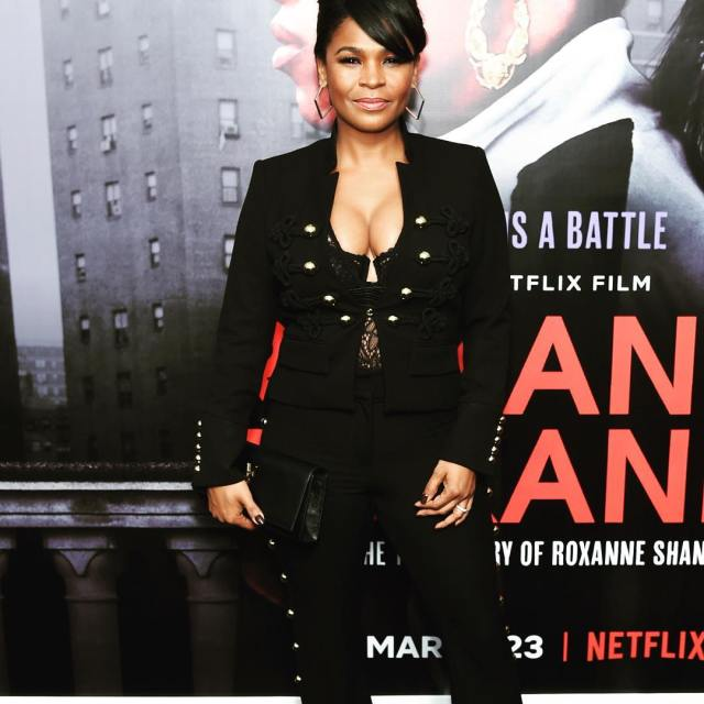 Nia Long on Suiting