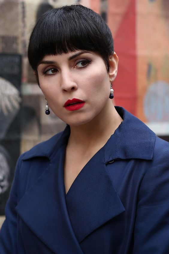 Noomi Rapace Red Lips