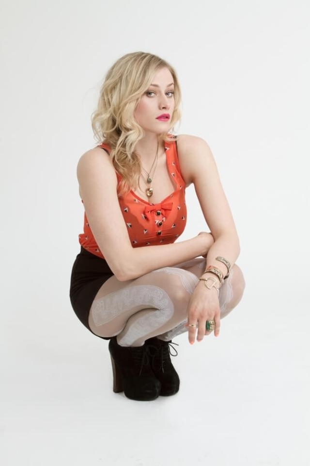 Olivia Taylor Dudley sexy cleavages
