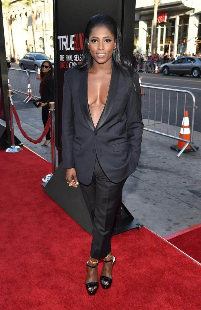 Rutina Wesley feet awesome picture