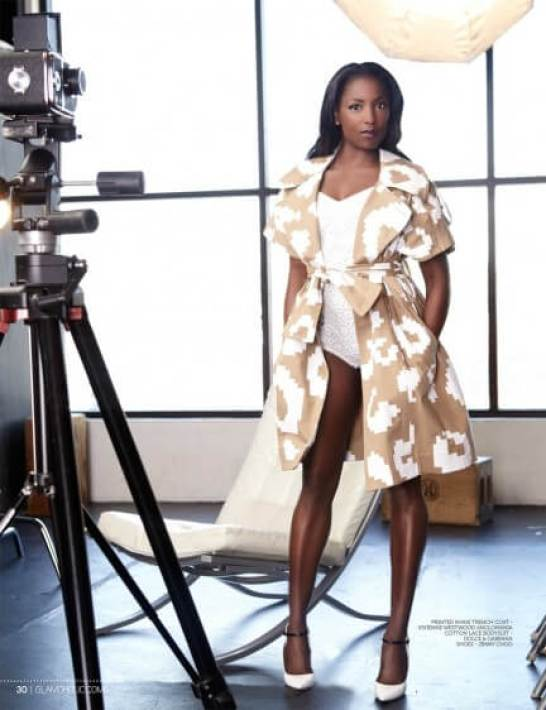 Rutina Wesley legs awesome pic