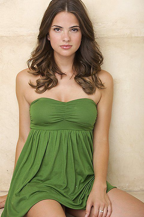 Shelley Dennig Hot in Green