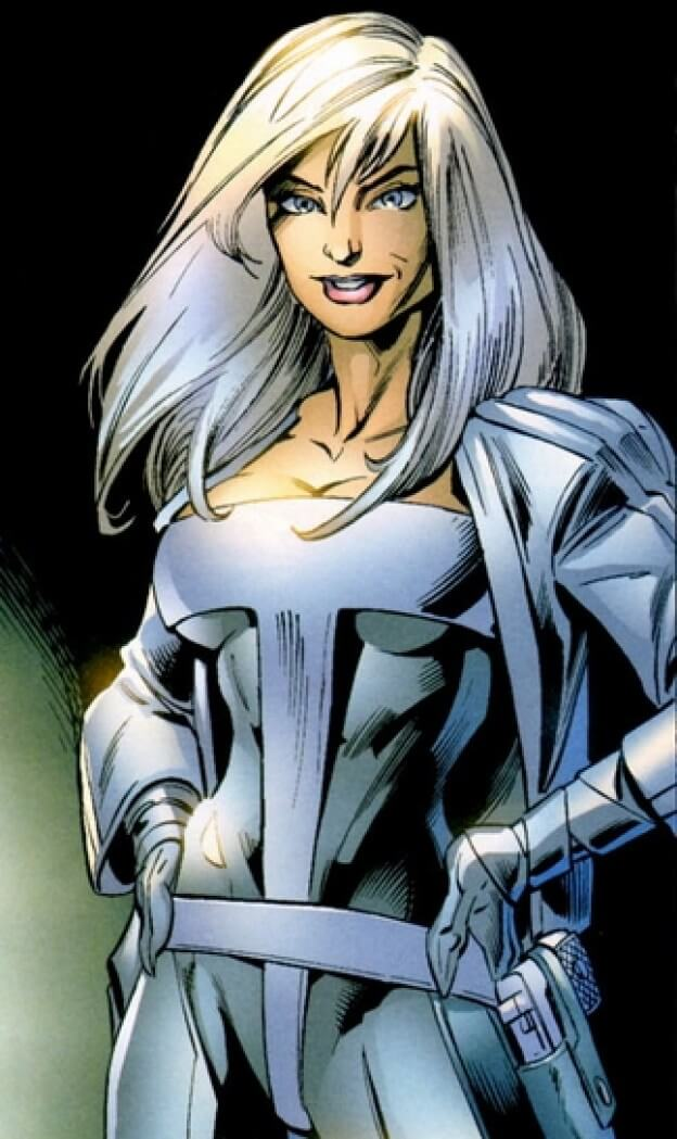 Silver Sable cleavage pic