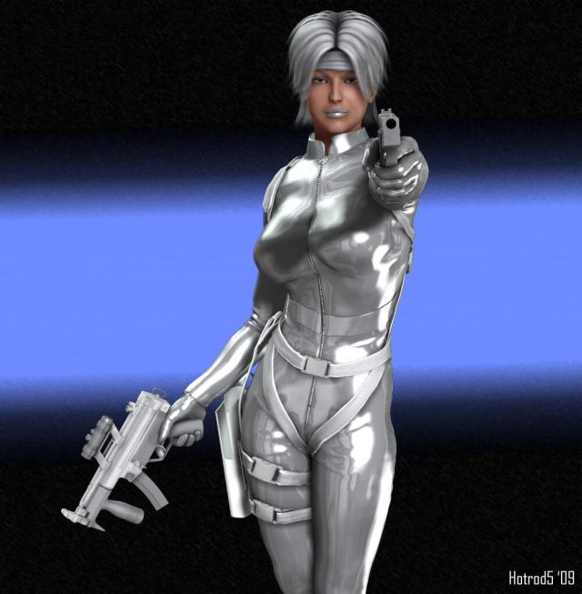 Silver Sable sexy picture (2)