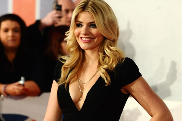 holly Willoughby sexy and hot