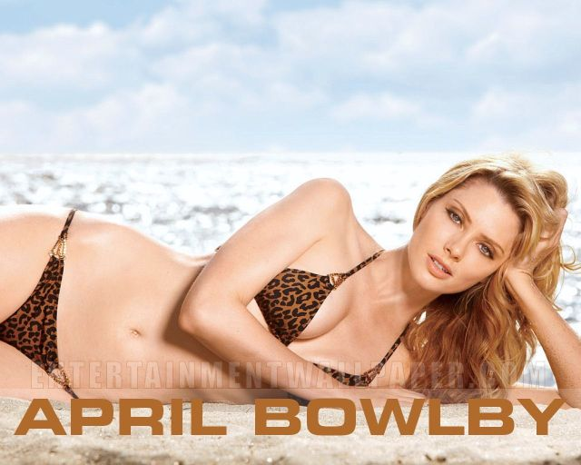 April Bowlby Sexy Boobs Pictures