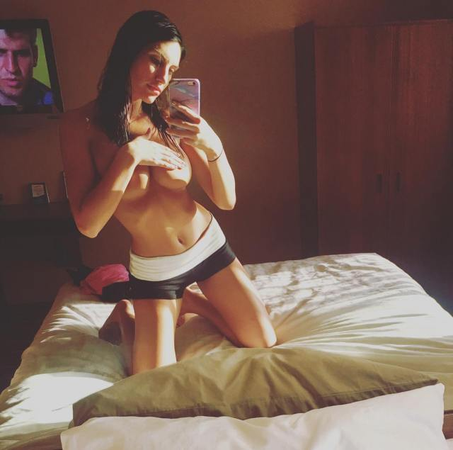 August Ames Topless