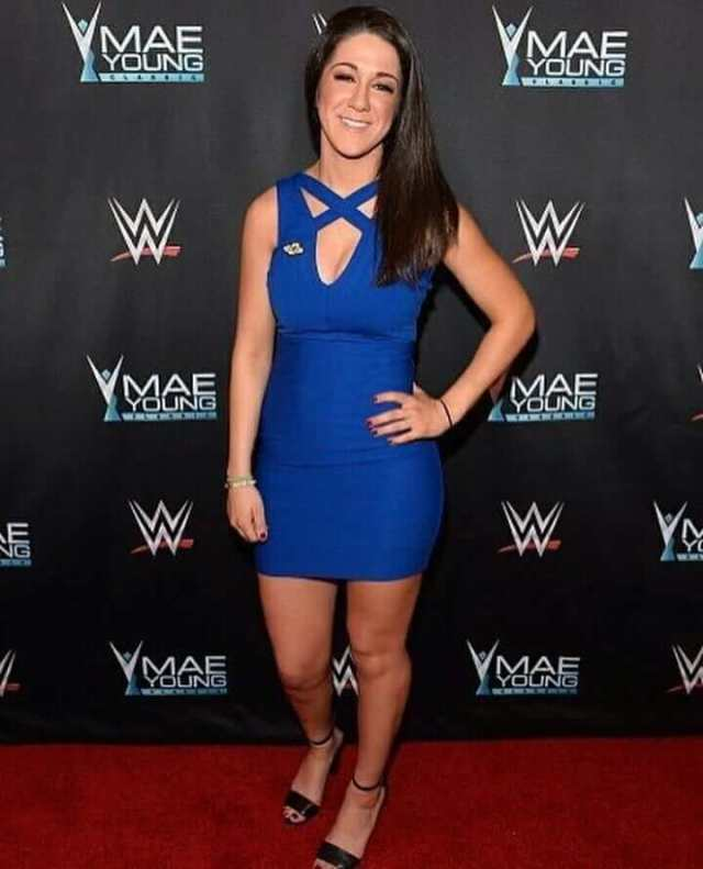 Bayley hot cleavages