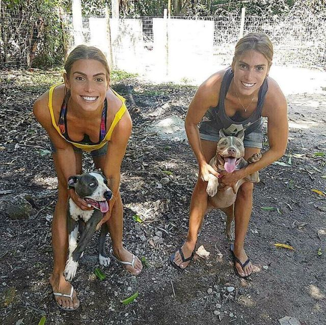 Bia & Branca Feres awesome pics