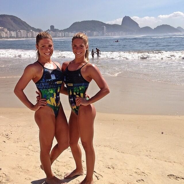 Bia & Branca Feres hot booty