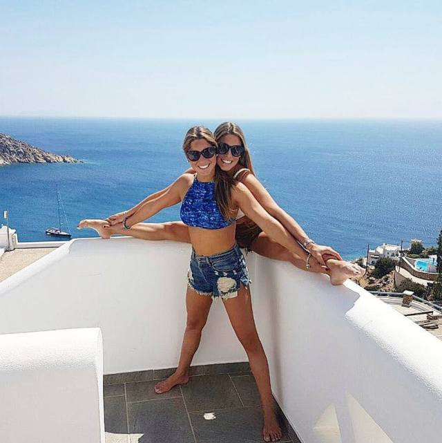 Bia & Branca Feres legs awesome