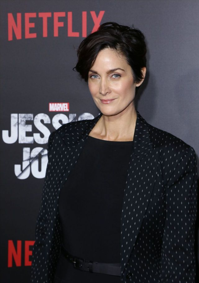 Carrie Anne Moss on Party