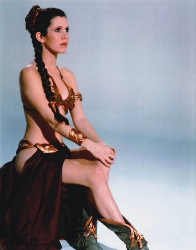 Carrie Fisher SEXY THIGHS