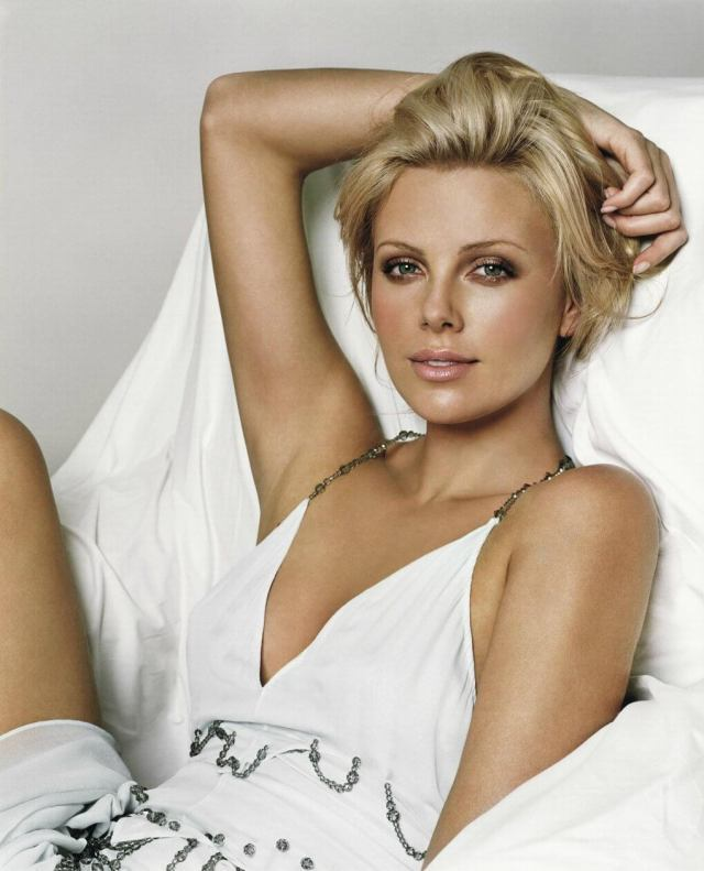 Charlize Theron sexy eyes
