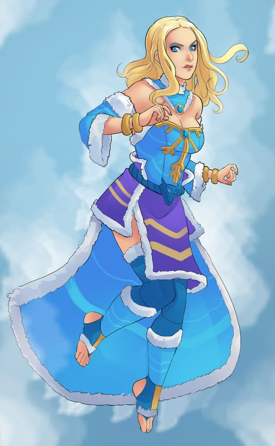 Crystal Maiden Beautifull