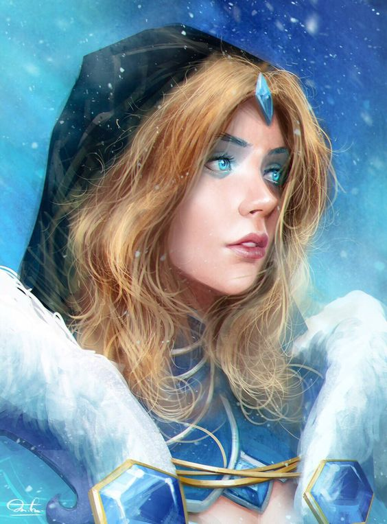 Crystal Maiden Beautifull Eyes