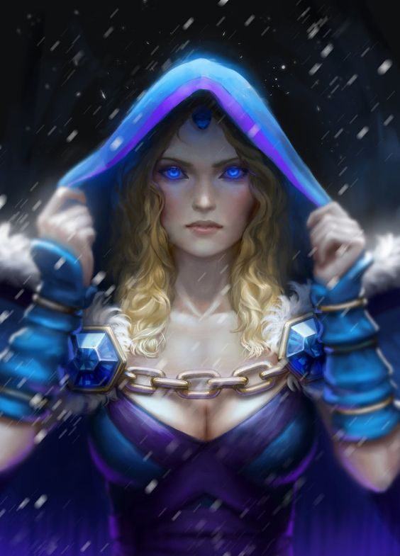 Crystal Maiden Hot Look