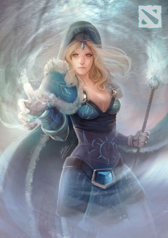 Crystal Maiden Photoshoot
