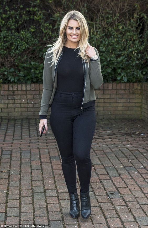 Danielle Armstrong on Photoshoot
