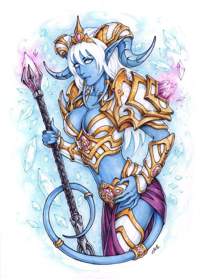 Draenei awesome pictures (2)