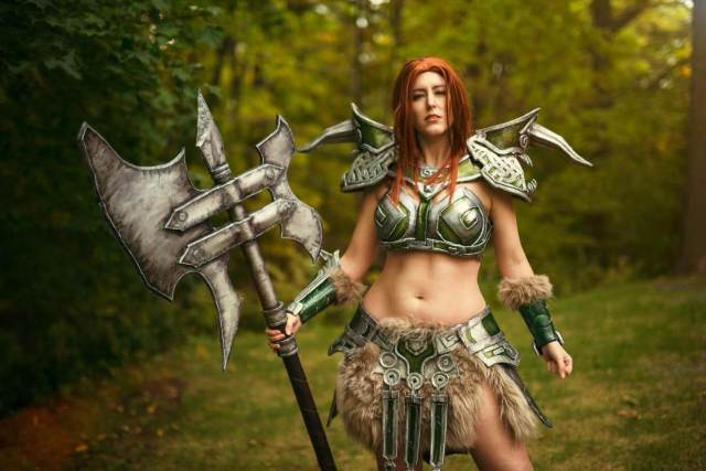 Female barbarian thighs awesome