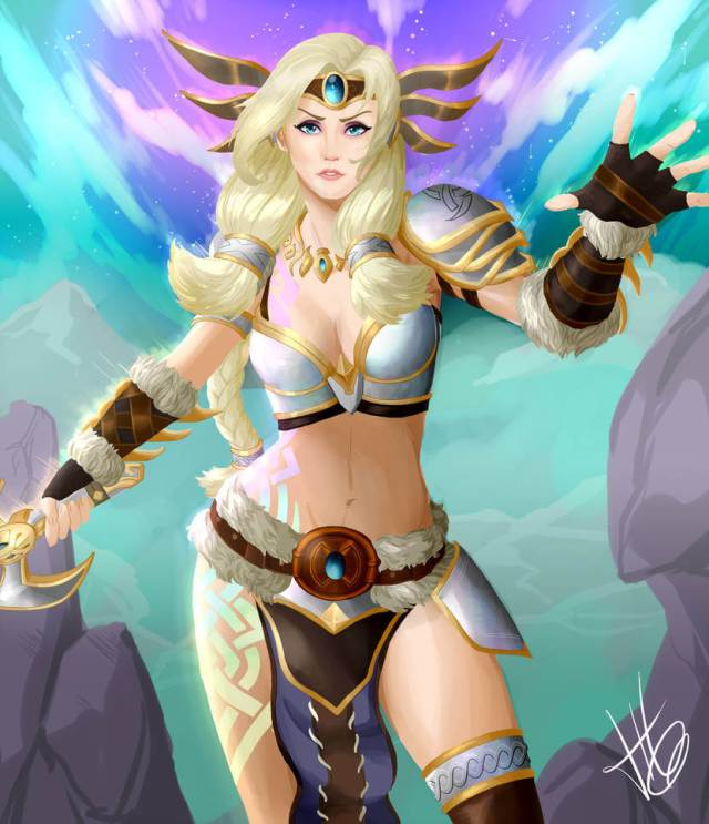 Freya Smite hot navel