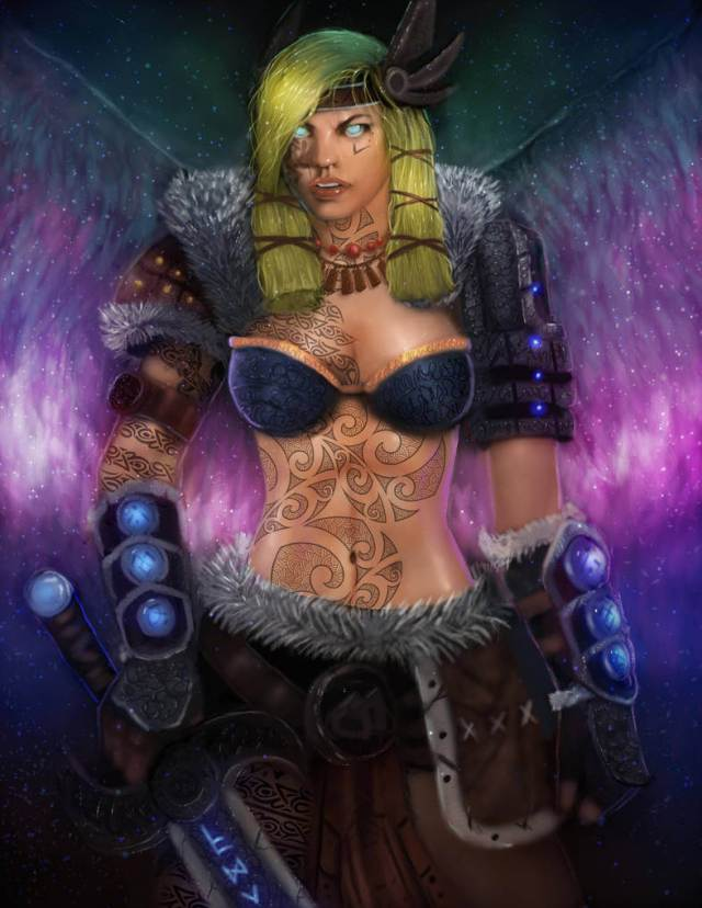Freya Smite navel photo