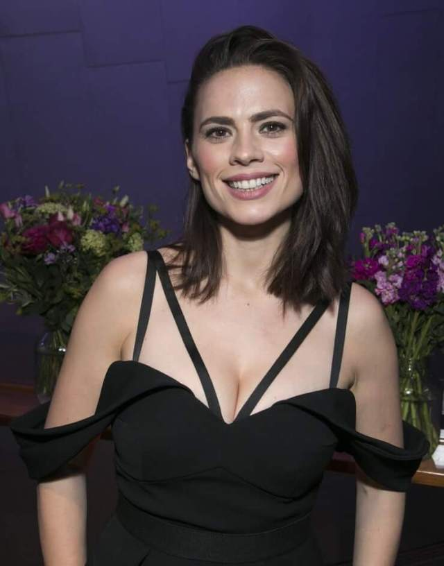 Hayley Atwell hot busty photo
