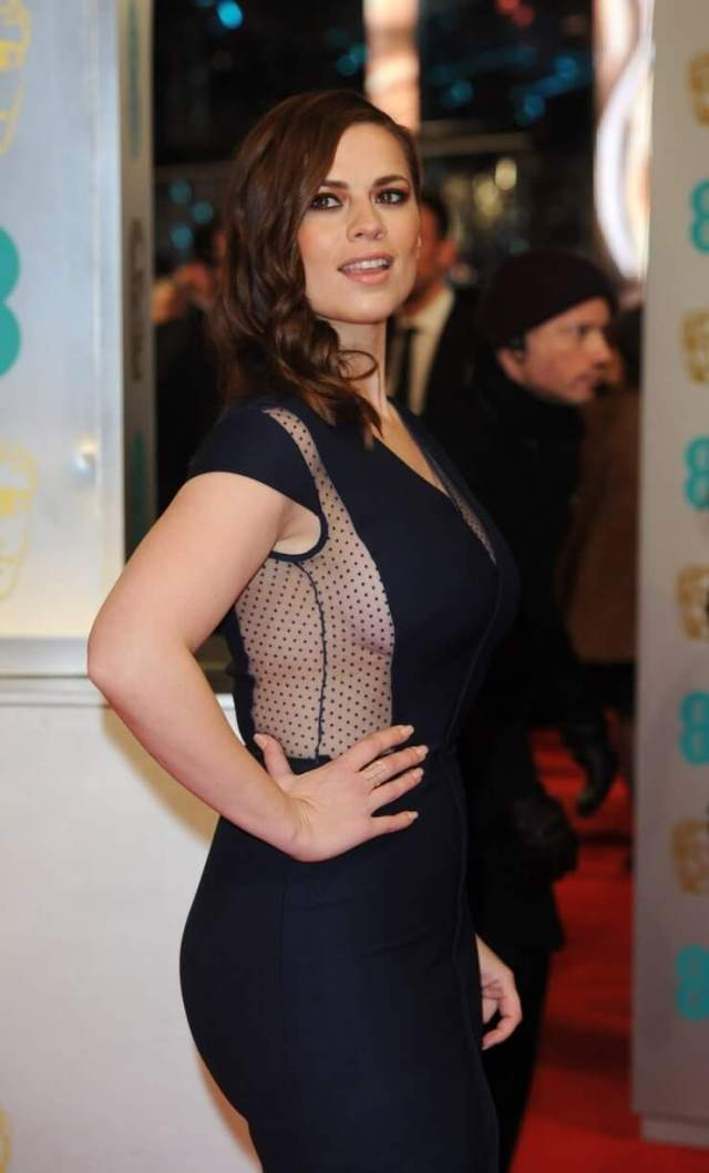 Hayley Atwell hot side photo