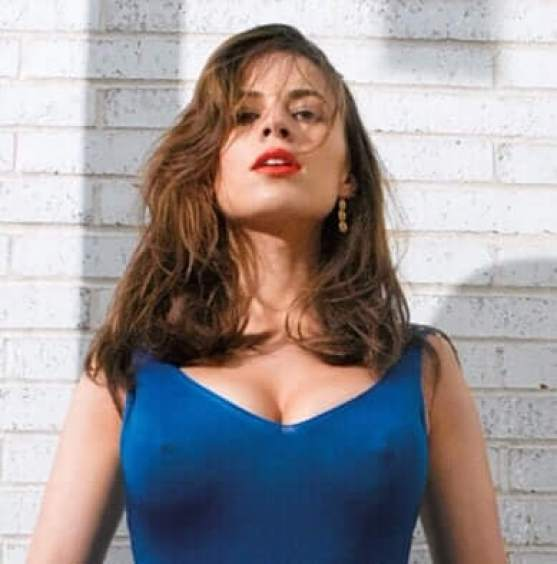 Hayley Atwell sexy busty pictures