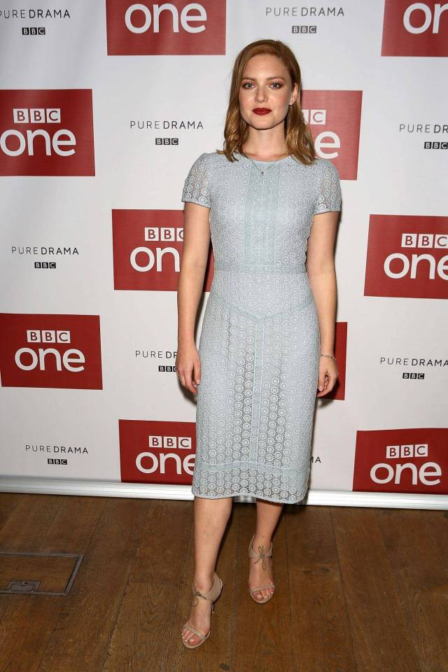 Holliday-Grainger awesome feet