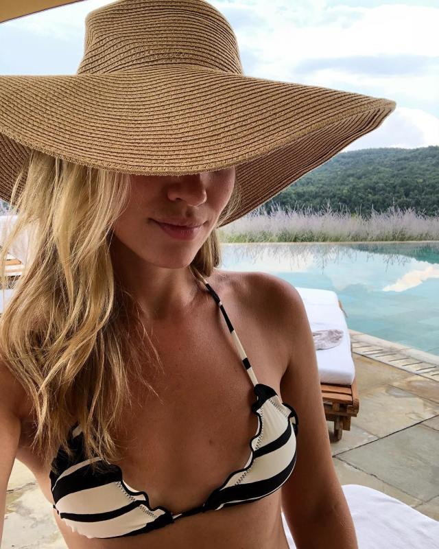 Kristine Leahy Hot in Hat