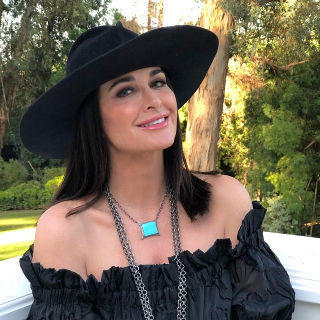 Kyle Richards Hot in Hat Pics