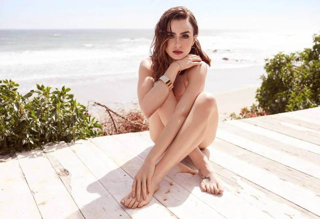 Lily Collins hot picture
