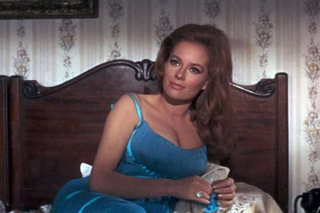 Luciana Paluzzi awesome cleavages