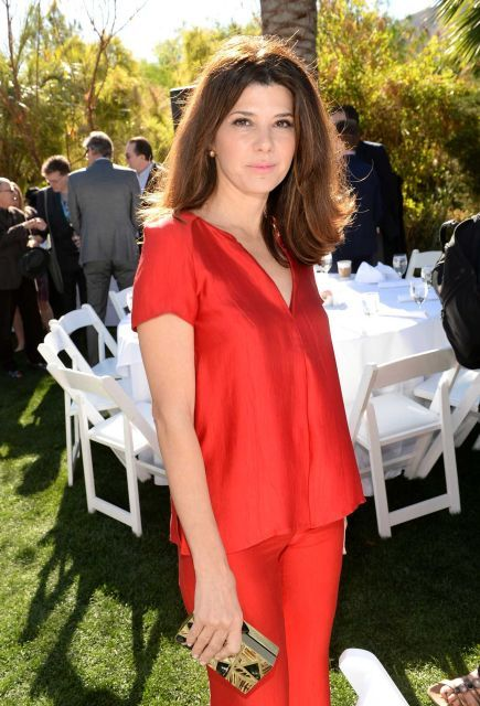 Marisa Tomei Hot in Red Dress