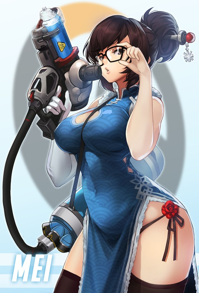 Mei Overwatch awesome dress 1