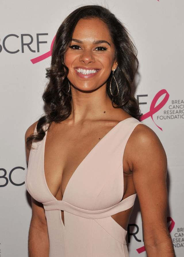 Misty Copeland awesome cleavage