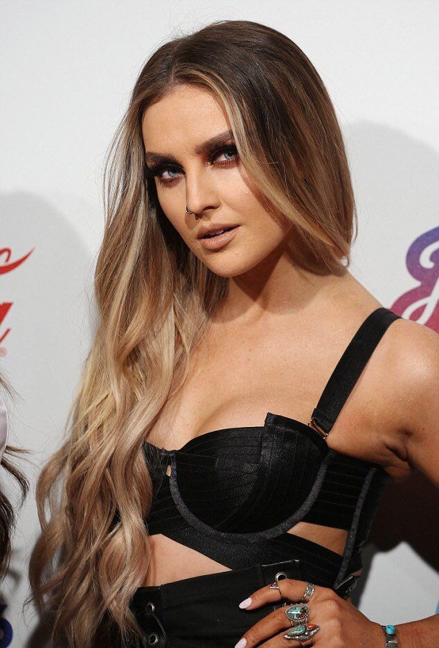Perrie Edwards Sexy Boobs Pics on Lingerie