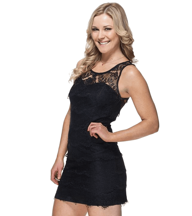 Renee Young sexy side pics