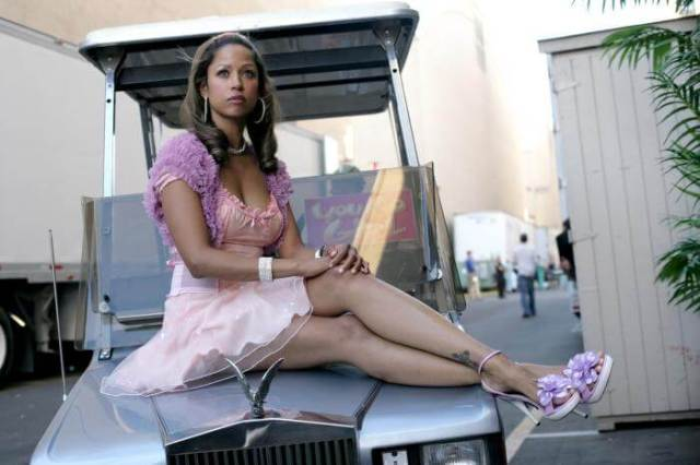 Stacey Dash sexy thighs pic