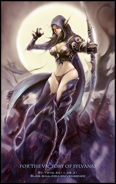 Sylvanas awesome cleavaegs pics 1