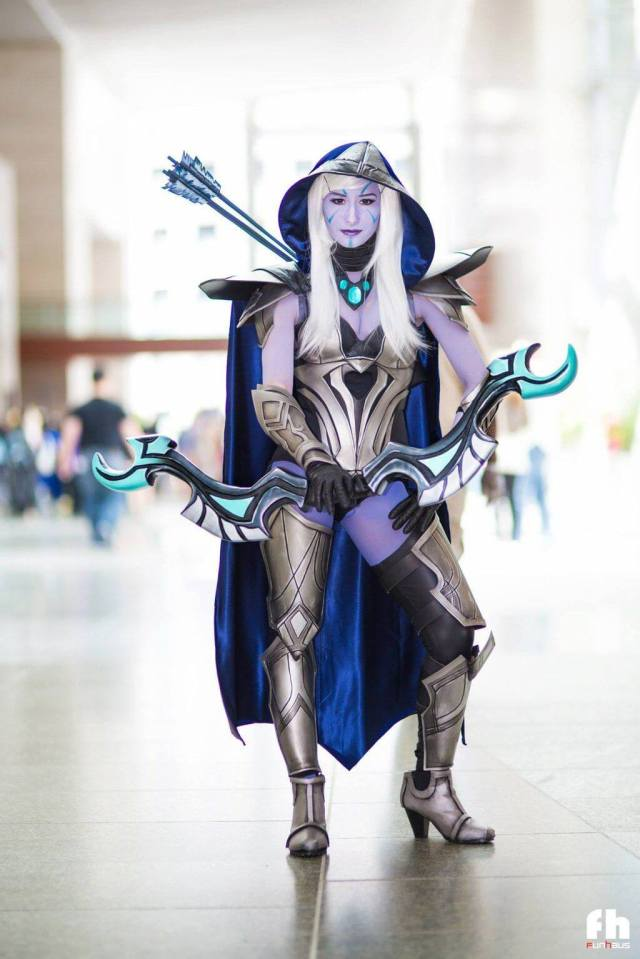 Traxex the Drow Ranger awesome