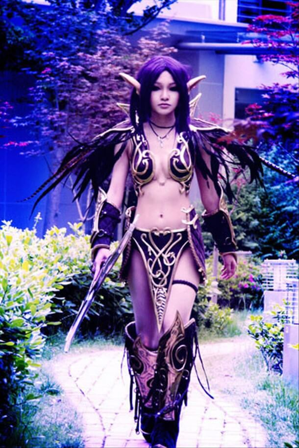 Tyrande awesome cleavages pics
